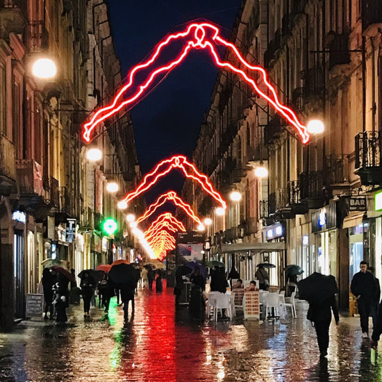 Tour Torino contemporanea